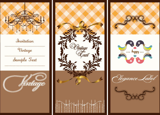 illustration card background vector