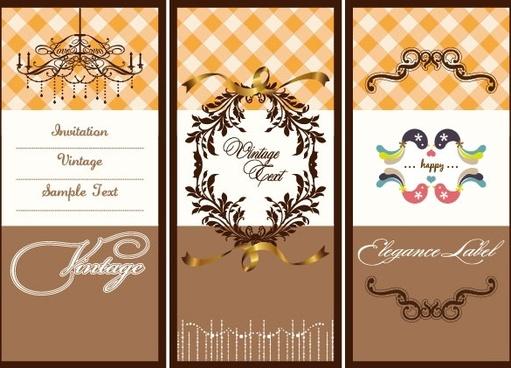 illustrator card background 01 vector