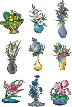 illustrator vector 2 flower style
