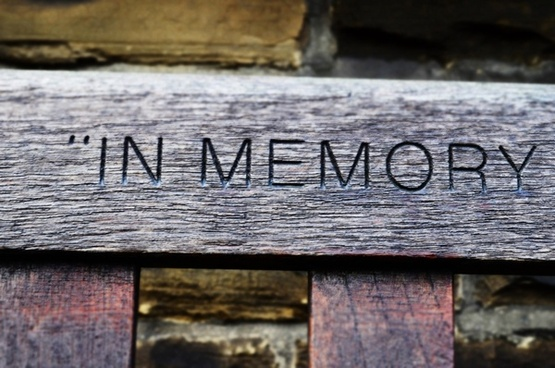 in memory for