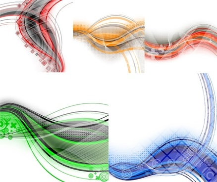 in particular the dynamic lines of the background vector 1