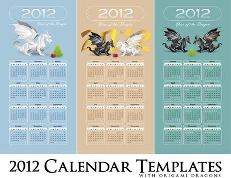 in pterosaurs calendar 2012 01 vector