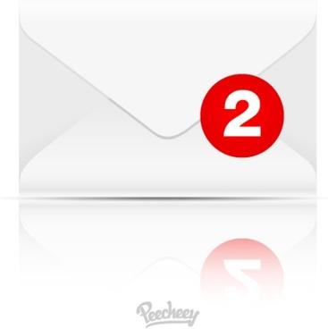 inbox icon illustration