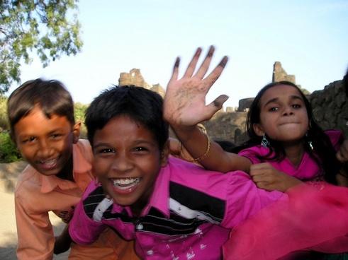india children joy