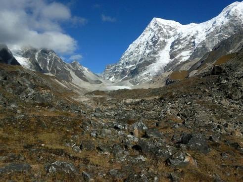 india rathong glacier