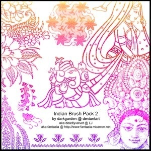 Indi an Brush Pack 2