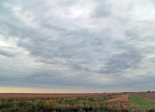 indiana field autumn