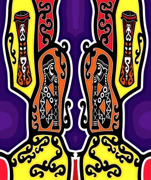 indonesia traditional batik