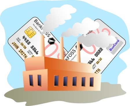 Industrial Commercial Credit clip art