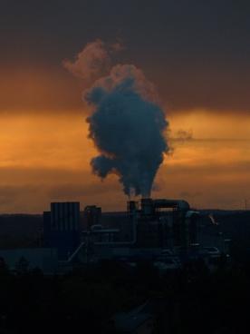 industry power plant smoke