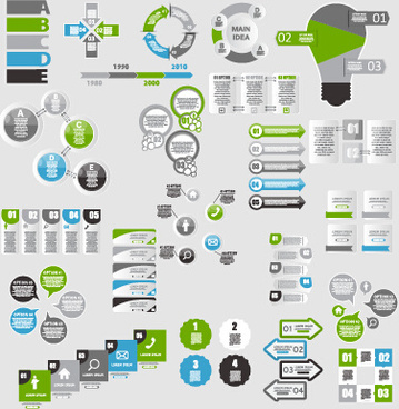infographic elements vector set