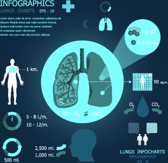 infographic medical creative vector