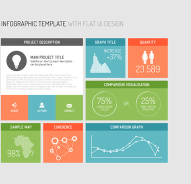infographic template elements