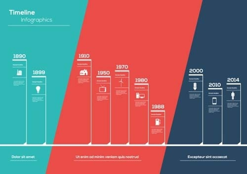 timeline free vector download  34 free vector  for