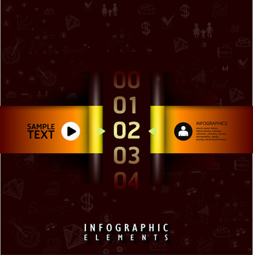 inforgraphic design template