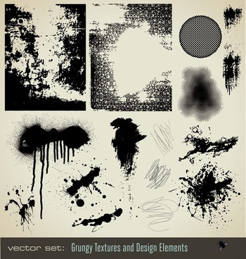 ink dots texture vector