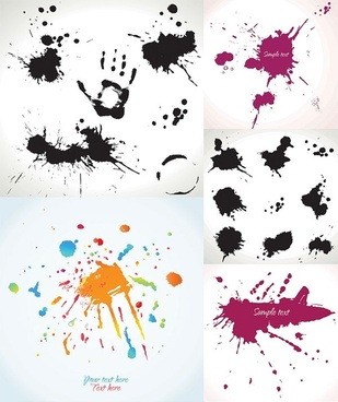 ink dots vector