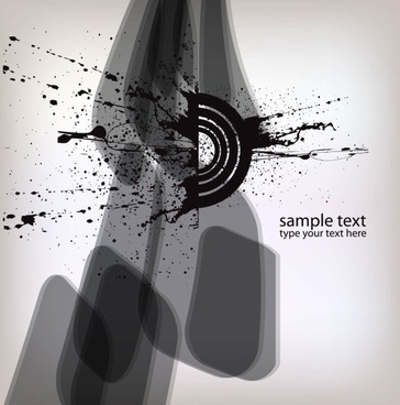 ink splash background 01 vector