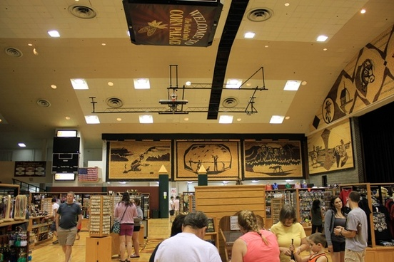 inside the corn palace in mitchell south dakota