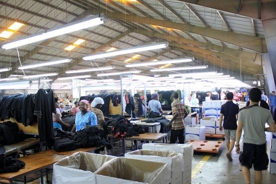 inside the factory at port au prince haiti
