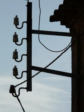 insulator current power line