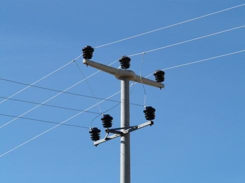 insulators strommast electricity