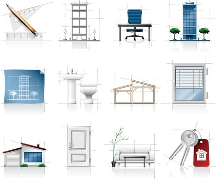 Architecture free vector download 1 033 free vector for commercial use format ai eps cdr for Interior design images free download