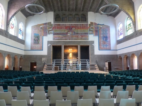 interior hall church