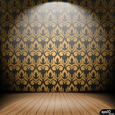 spotlight stage background shining 3d sketch classic wallpaper