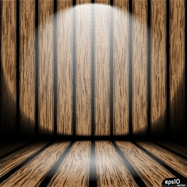 wooden spotlight background shiny 3d sketch