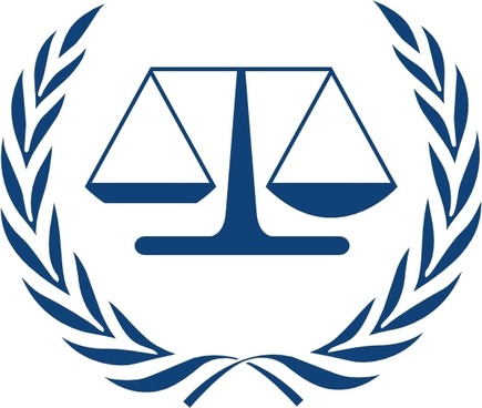 International Criminal Court Logo clip art