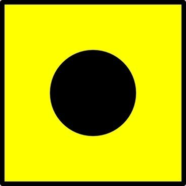 International Maritime Signal Flag India clip art