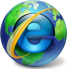 Internet explorer earth
