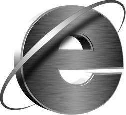 Internet explorer sign