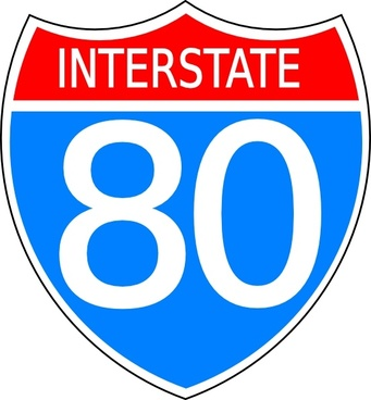 Interstate Free Vector Download 18 Free Vector For Commercial Use - Us-highway-map-symbols