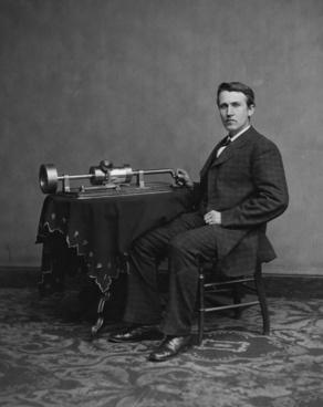 inventor thomas alva edison portrait