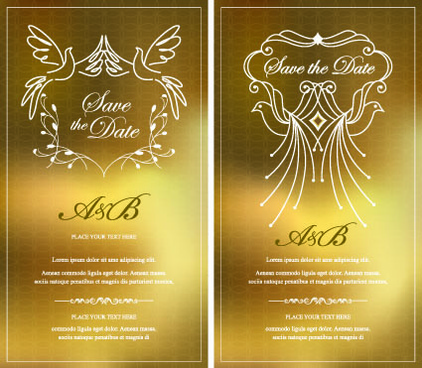 Gold invitation vector free vector download 3951 free vector for invitation gold card design vector graphics stopboris
