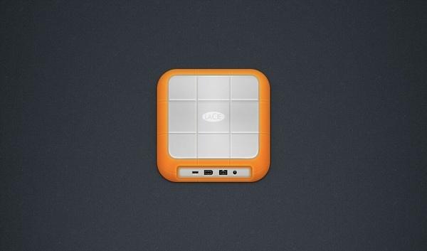 iOS Hard Drive Icon