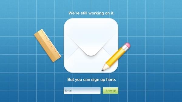 iOS Teaser Page