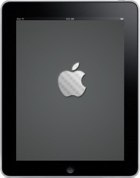 iPad Front Apple Logo