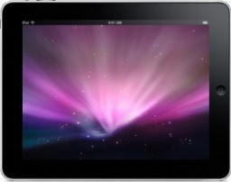 iPad Landscape Space Background