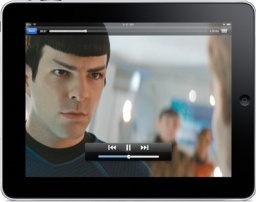 iPad Landscape Star Trek