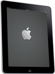 iPad Side Apple Logo