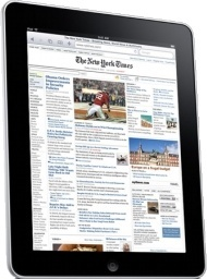 iPad Side Newspaper