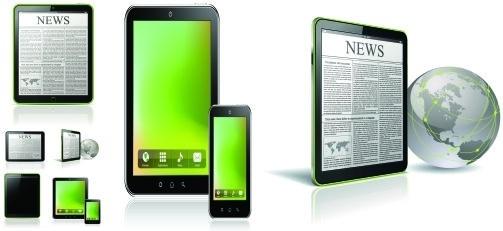ipad tablet pc vector