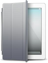iPad White gray cover