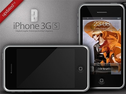 iPhone 3G Mania PSD