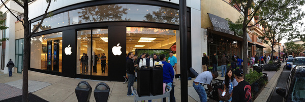 iphone 5 launch line