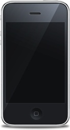 iPhone front black