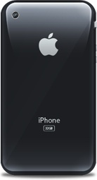 iPhone retro black